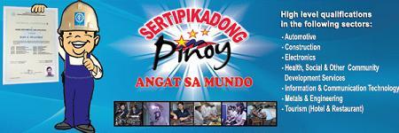 Sertipikadong Pinoy - Angat sa Mundo!